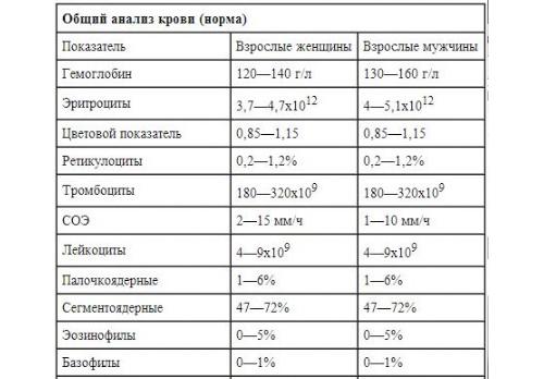 Улучшить формулу в клиническом анализе крови сдача анализов крови просвещения