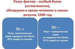 Определение резус-фактора