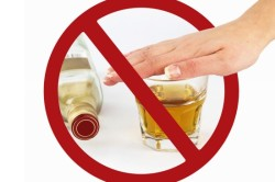 Отказ от алкоголя перед анализом