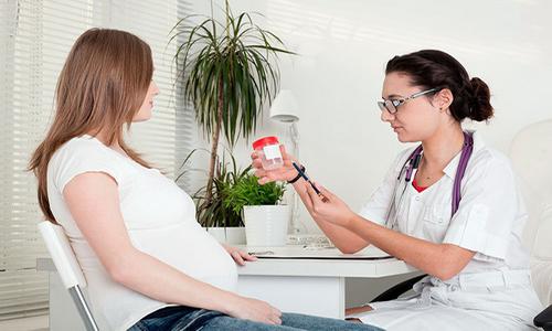 Регулярные анализы мочи при беременности