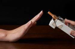 Отказ от курения перед сдачей анализа