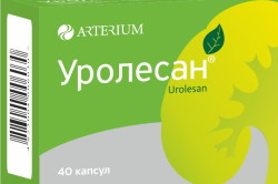Уролесан для профилактики образования фосфатов кальция в моче