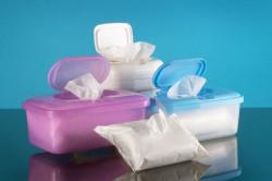 Отказ от влажных салфеток перед сдачей анализа мочи