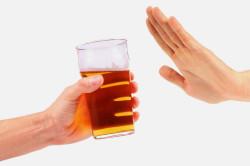 Отказ от алкоголя перед сдачей анализа мочи