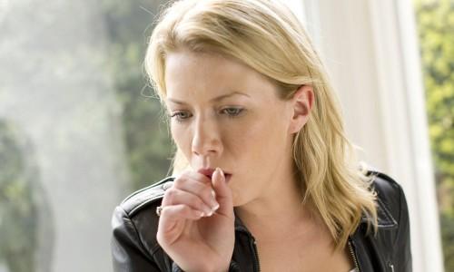 Возникновение мокроты при кашле